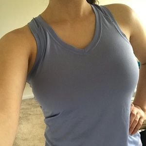 North Face Purple Workout Tank Top S